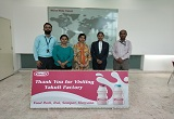 Industrial Visit to Yakult Danone Pvt. Ltd. on 10 September 2019